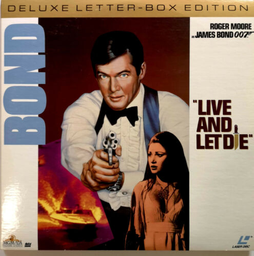 James Bond 007: Live And Let Die - Roger Moore - Sprache englisch