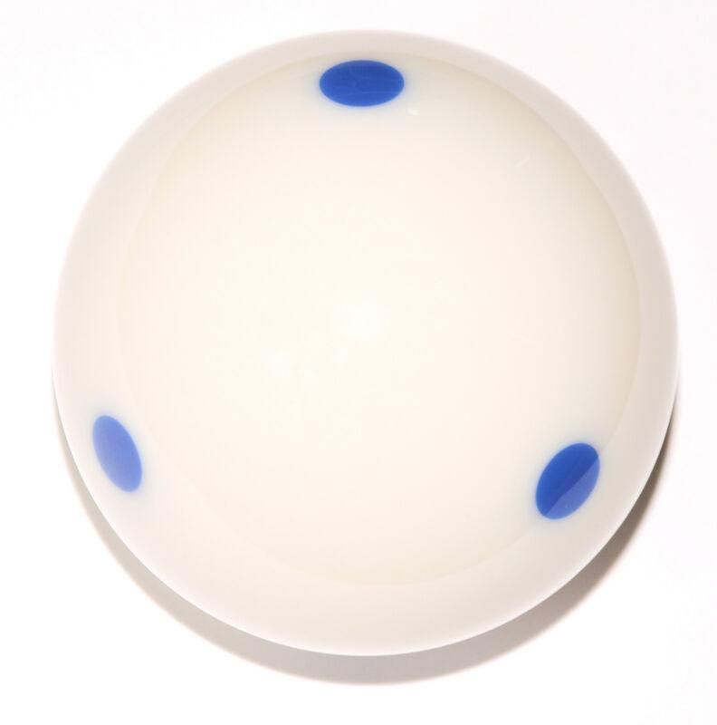 "Blue 6 Dot - Spot  Pool - Billiard Practice Training Cue Ball 6 oz - 2 1/4"""
