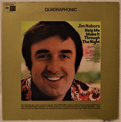 Jim Nabors Help Me Make It Through The Night Quadraphonic Quad Lp Nm Vinyl Nice