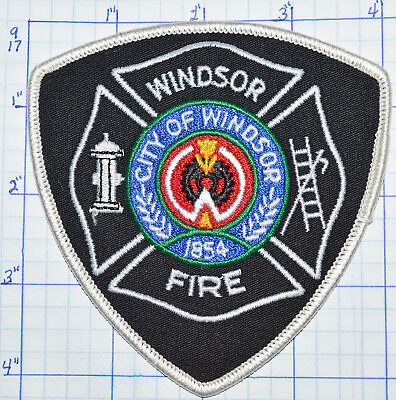 CANADA, WINDSOR FIRE DEPT PATCH
