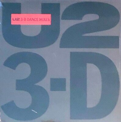 "U2 3-D Dance Mixes 45 RPM Vinyl When Love Comes to Town God Part II Desire 12"" for sale  Shipping to Canada"