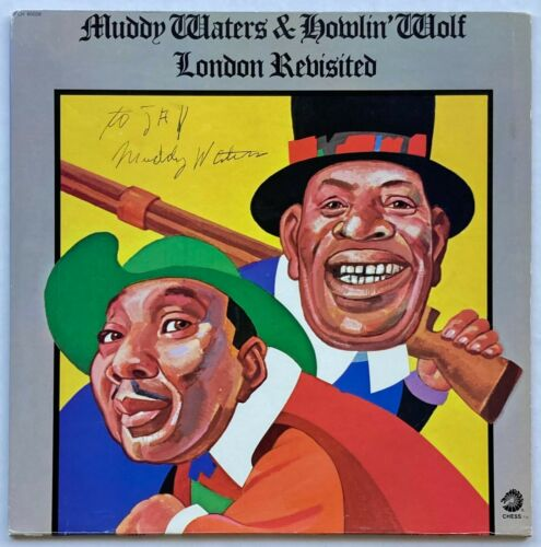 MUDDY WATERS Signed LONDON REVISITED LP w/Howlin