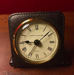 Mark Cross Vintage Travel Alarm Clock