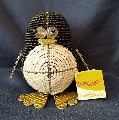 (Penguin Silly * Beadworx by Grass Roots Creations * New with Tags)