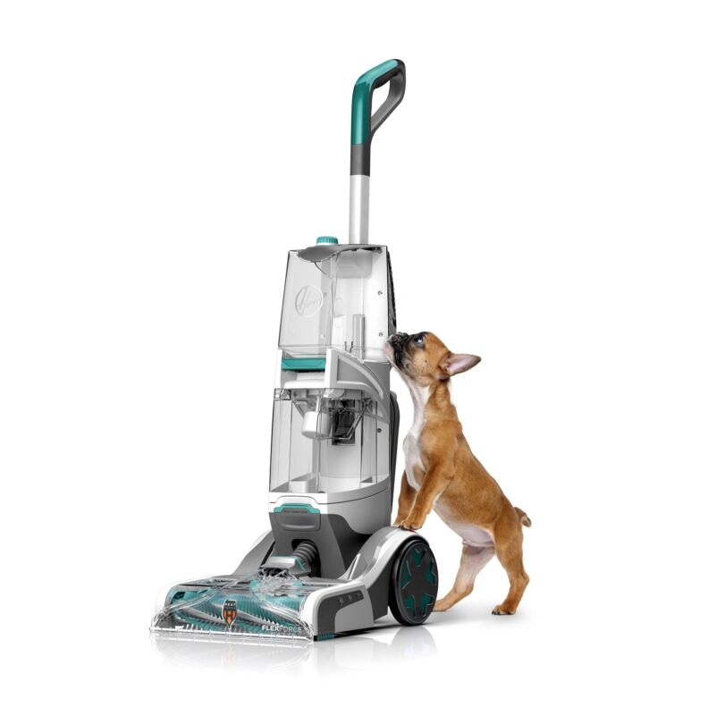 Hoover SmartWash+ Upright Deep Cleaner Teal/Transparent FH52000
