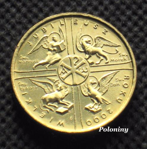 COMMEMORATIVE COIN OF POLAND - THE GREAT JUBILEE OF THE YEAR 2000 (MINT)