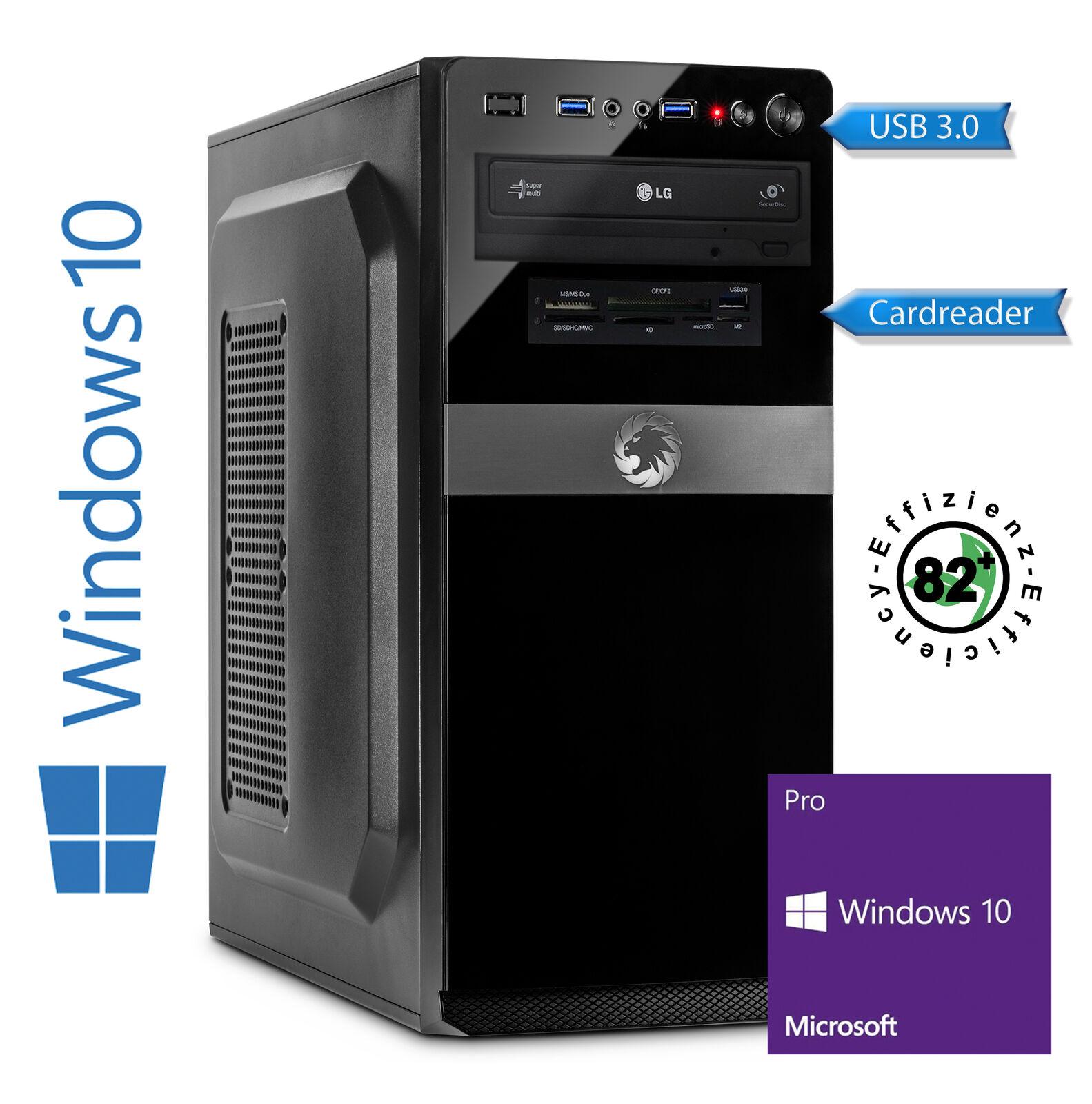 Desktop PC - Intel i5-8400 6x 2.8 GHz, 8GB DDR4 RAM, 240 GB SSD Windows 10 Pro