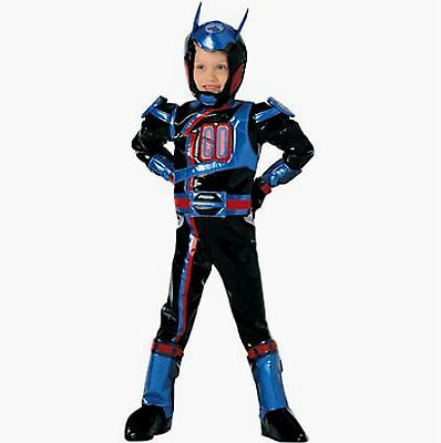 Disney Power Ranger SPD Shadow Costume NEW Size XXS 1-2 Years Gloves Boot covers