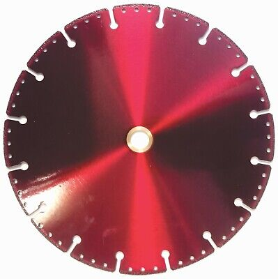 9 Inch Metal Cutting Diamond Blade 58-78 Arbor