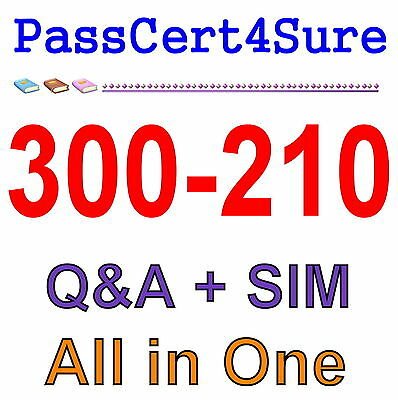 Cisco Best Practice Material For 300-210 Exam Q&A PDF+SIM