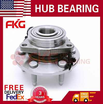 Front Wheel Bearing Hub For Chevy Silverado 1500 Escalade Yukon Tahoe 4x4 515096