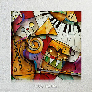 Jazz-it-up-Waugh-QUADRO-MODERNO-STAMPA-TELA-QUADRI-ARREDAMENTO-CASA-ARTE
