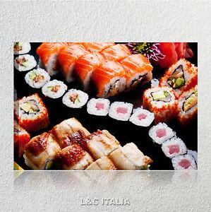 sushi 4 quadro moderno tela ristorante bar lounge pub food arredo ... - Quadri Per Cucina Moderna