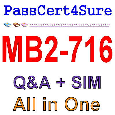 MS Best Practice Material For MB2-716 Exam Q&A PDF+SIM