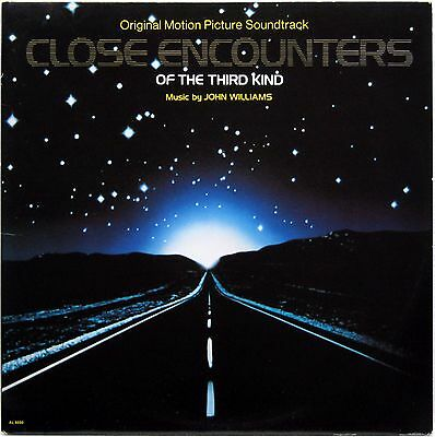 JOHN WILLIAMS CLOSE ENCOUNTERS OF THE THIRD KIND OST 1977 LP ARISTA AL 9500