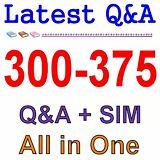 Cisco Best Practice Material For 300-375 Exam Q&A PDF+SIM