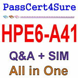 HP Applying Aruba Switching Fundamentals for Mobility HPE6-A41 Exam Q&A+SIM
