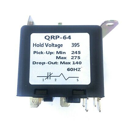 Universal Potential Relay 395 Voltage245-275 Pick Up140 Drop Out 60hz.