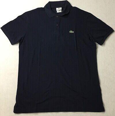 Lacoste Men Pique Slim Fit Polo PH5001 Navy Blue Size 3 / XS