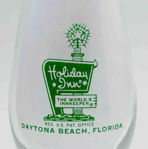 VINTAGE HOLIDAY INN DAYTONA BEACH FLORIDA HISICANE EXOTIC DRINK GLASS SOUVENIR