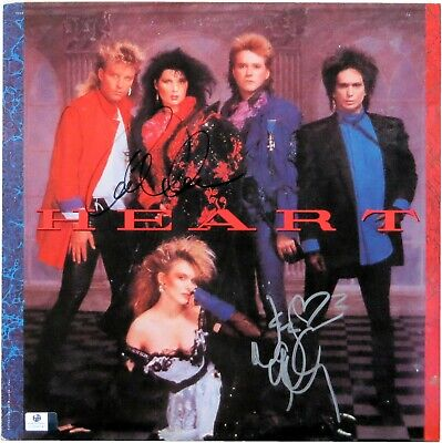 Ann Wilson Nancy Wilson Dual Signed Autographed Album Cover Heart JSA U07909 for sale  Shipping to United Kingdom