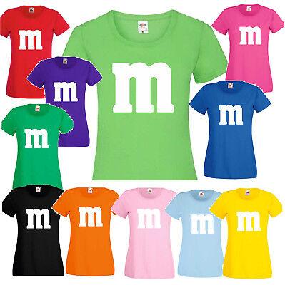Gruppenkostüm Paarkostüm für M&M Fans Karneval Fasching Damen Herren - Herren Paar Kostüm