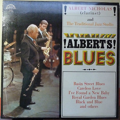 Albert Nicholas And The Traditional Jazz Studio: Albert's Blues - Vinyl-LP