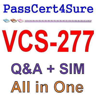 Administration of Veritas NetBackup 8.0 and NetBackup App VCS-277 Exam Q&A+SIM