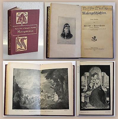 Malapert-Neufville Heisterbergk Malergeschichten 9 Novellen 1902 Belletristik xz