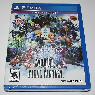 World of Final Fantasy for Playstation Vita Brand New! Factory Sealed!