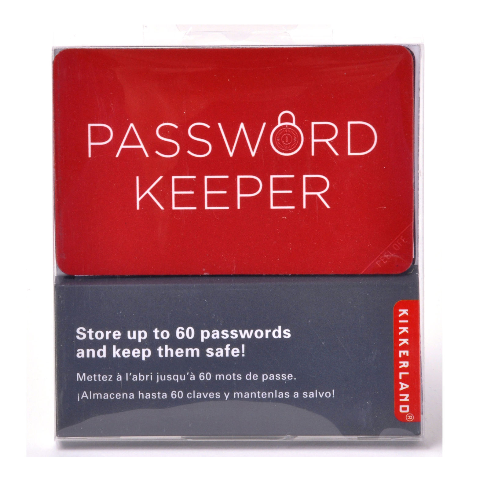 Year Calendar Kikkerland : Nb kikkerland password keeper wallet sized folding book crypto