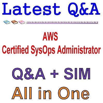 AWS Certified SysOps Administrator – Associate AWS-SysOps Exam Q&A PDF+SIM