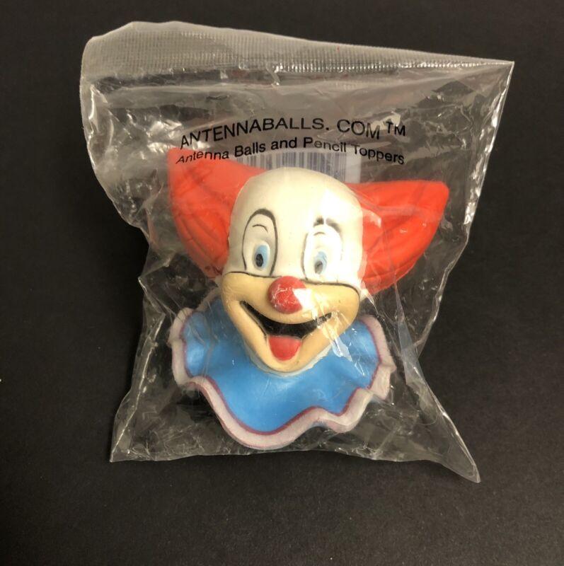 Bozo The Clown; Antenna Ball & Pencil Topper, 2000