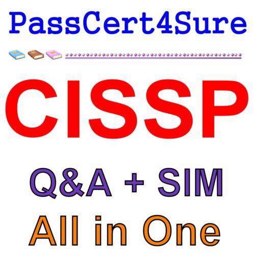 ISC2 CISSP Info Systems Security Exam Q&A W/ Explanations+Simulator