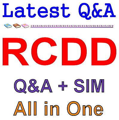 BICSI Registered Communications Distribution Design RCDD Exam Q&A PDF+SIM