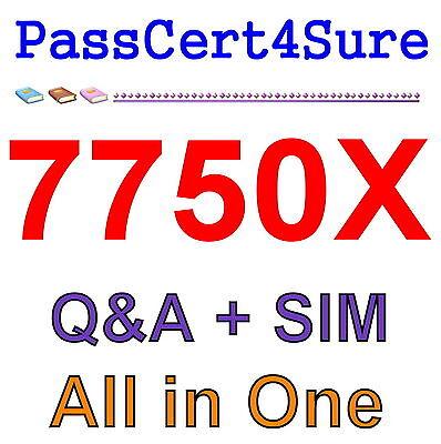 Avaya IP Office Contact Center Implementation & Configuration 7750X Exam Q&A+SIM