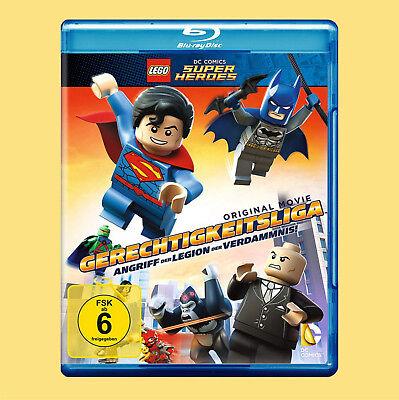 ••••• LEGO: Gerechtigkeitsliga - Angriff der Legion der Verdammten (Blu-ray)☻