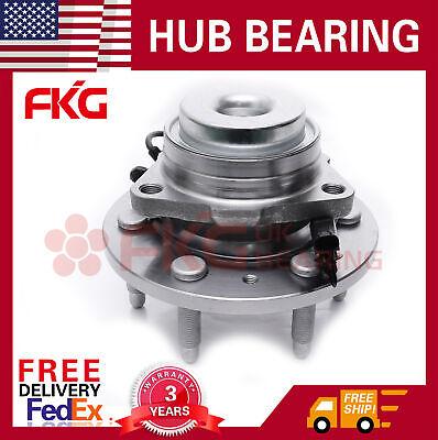 FRONT Wheel Bearing & Hub For 07-13 Chevy Silverado 1500 GMC Sierra 2WD 515097x1