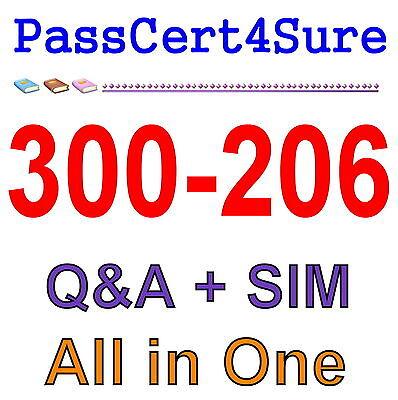 Cisco Best Practice Material For 300-206 Exam Q&A PDF+SIM