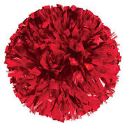 Red Cheer Pom Poms