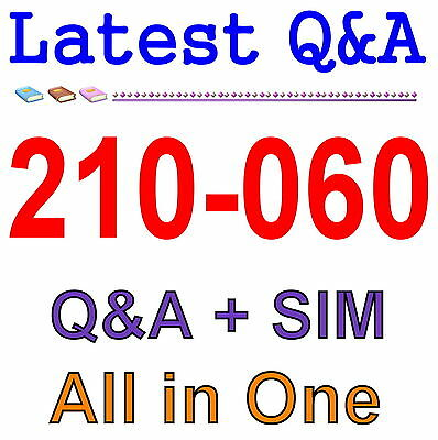 Cisco Best Practice Material For 210-060 Exam Q&A PDF+SIM