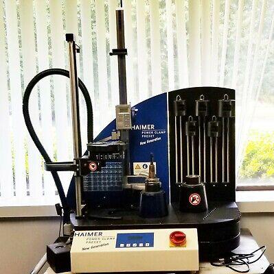 Haimer Power Clamp Preset Induction Shrink Fit Machine