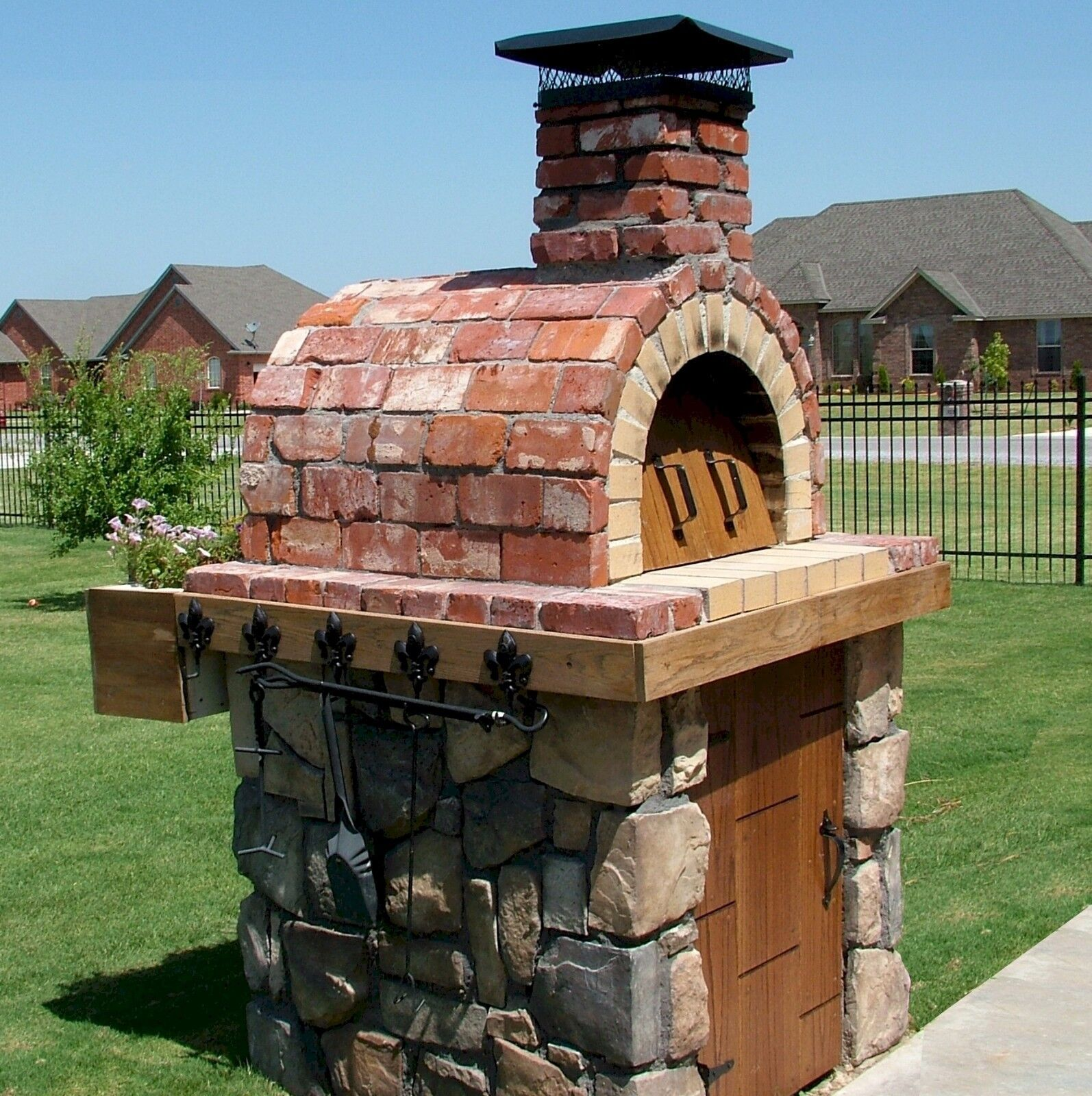 Pizza Ovens are Expensive!  Build your Outdoor Wood Fired Pi