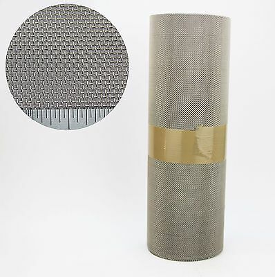 BUDGET RODENT MESH ROOFING ROLL - 6M X 350MM - STAINLESS STEEL - EASY TO CUT