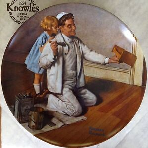 Bradford Exchange Norman Rockwell Collector Plates Strathcona County Edmonton Area image 5