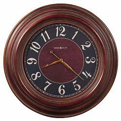 625-536 HOWARD MILLER GALLERY WALL CLOCK  35.5  MCCLURE