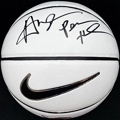 ANFERNEE PENNY HARDAWAY SIGNED MEMPHIS TIGERS NIKE LOGO BASKETBALL PSA/DNA MAGIC
