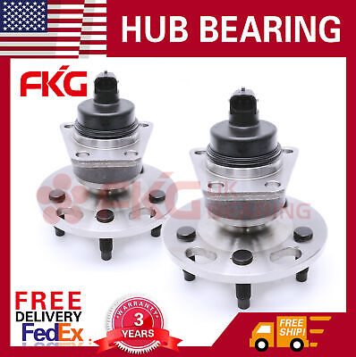 2 Rear Wheel Bearing Hub For Chevy Cavalier Beretta Pontiac Grand Sunfire 512001