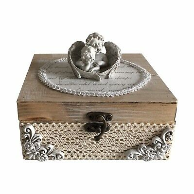 Angels - Craft Wooden Jewellery Box