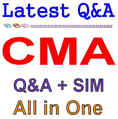 Certified Management Accountant CMA Exam Q&A PDF+SIM